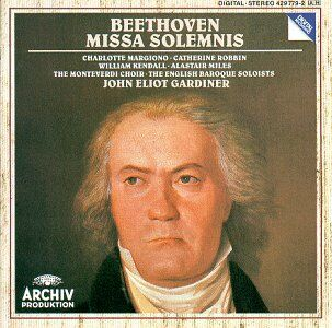 Click on image for larger image of John-Eliot Gardiner recording of Beethoven's Missa Solemnis